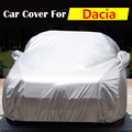 Car Cover Anti-UV Outdoor Sun Rain Snow Dust Scratch Resistant Cover For Dacia Dokker Duster Lodgy Logan Nova Sandero Solenza