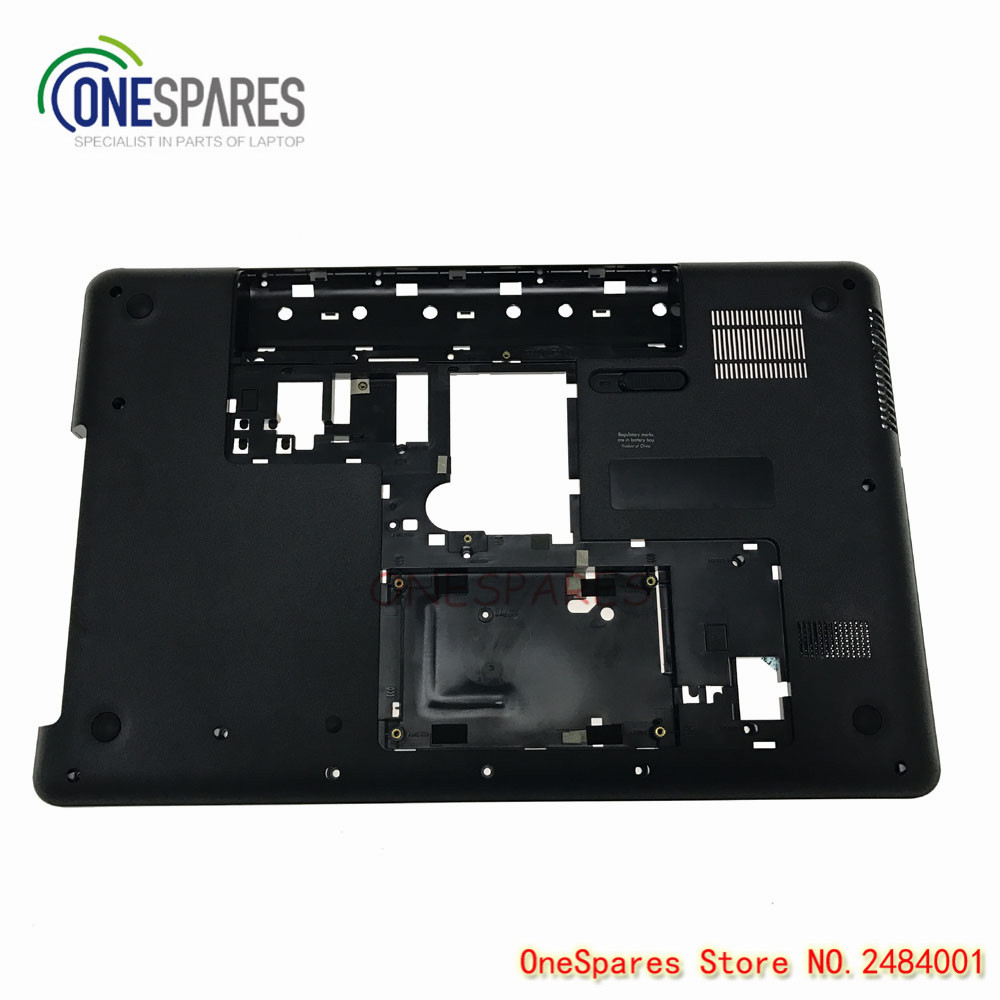 New Original Laptop base Bottom case For Genuine HP Compaq 630 635 CQ57 Series D Cover Lower Case Cover Chassis 646838-001 original new 15 6laptop lower case for hp omen 15 5000 series bottom cover base shell 788598 001 empty palmrest 788603 001