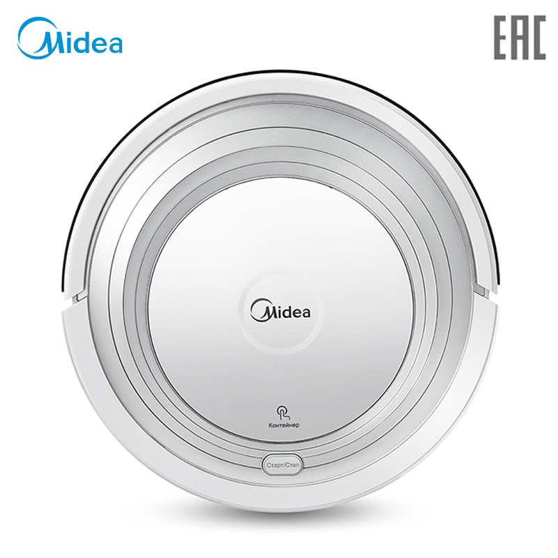 Robot Vacuum Cleaner Midea VCR01/VCR12 with Remote Control,Self-Recharge,Automatic Cleaning,Smart Vacuums free for russian buyer 4 in 1 multifunctional robot vacuum cleaner with virtual blocker self charging lcd touch liectroux