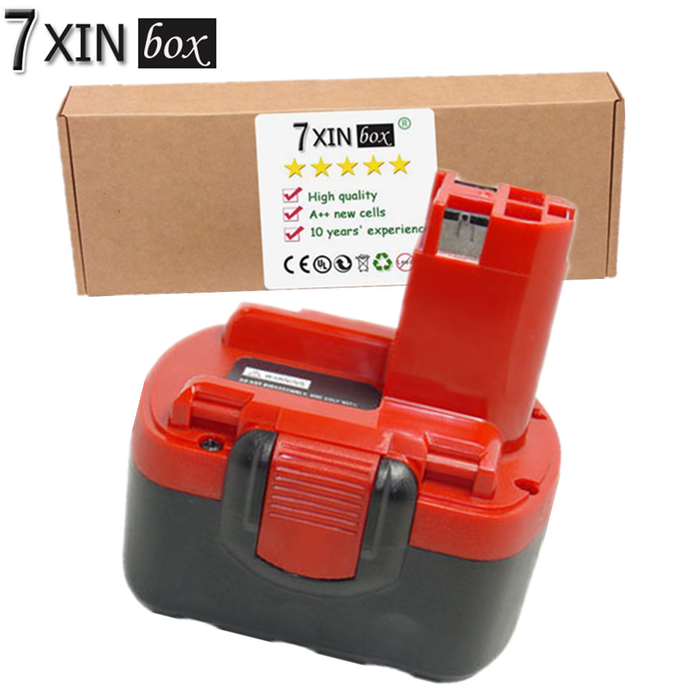 7XINbox 4000mAh Li-ion Replacement Battery For BOSCH BAT038 BAT040 BAT041 BAT140 BAT159 PSR1440 ART 26 Power Tool Rechargeable high quality 14 4v 2000mah ni cd replacement power tool battery for bosch bat038 bat040 bat041 bat140 2 607 335 711 charger