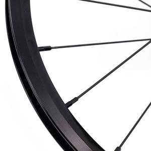 """Image 4 - دراجة 349 العجلات 1 3 سرعة 16x1 3/8 """"Kinlin NB R حافة القفز ل Brompton 3 ستين بايك عنصر خفيفة للطي عجلات الدراجة 800g"""
