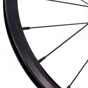 Image 4 - Велосипедная колесная пара 349, 1 3 скорости, 16x1 3/8 дюйма, Kinlin, внешний колесный обод для Бромптона 3, 60 щуки, элемент, сверхлегкие складные велосипедные колеса 800 г