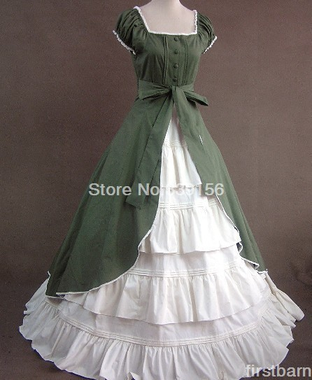 Long Dress Victorian Gothic Lolita Dress party dress high quality free shipping