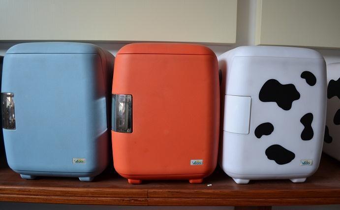 Yavid etc 6 sac isotherme cosmétiques voiture réfrigérateur vache réfrigérateur voiture double 36 W 12 V/220 V