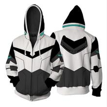 Voltron Legendary Defender Lance Cosplay Costume Hood Jacket For Halloween Costumes Men Women Anime Hoodie Plus Size