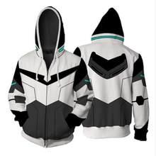 Voltron Legendary Defender Lance Cosplay traje Lance capucha chaqueta para  Halloween hombres mujeres Anime Hoodie más b04485a34c0c