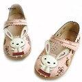 Koovan niños pisos 2017 venta superior niño babys conejo shoes casual fashion sneakers shoes niños muchachas de los muchachos de cuero hueco