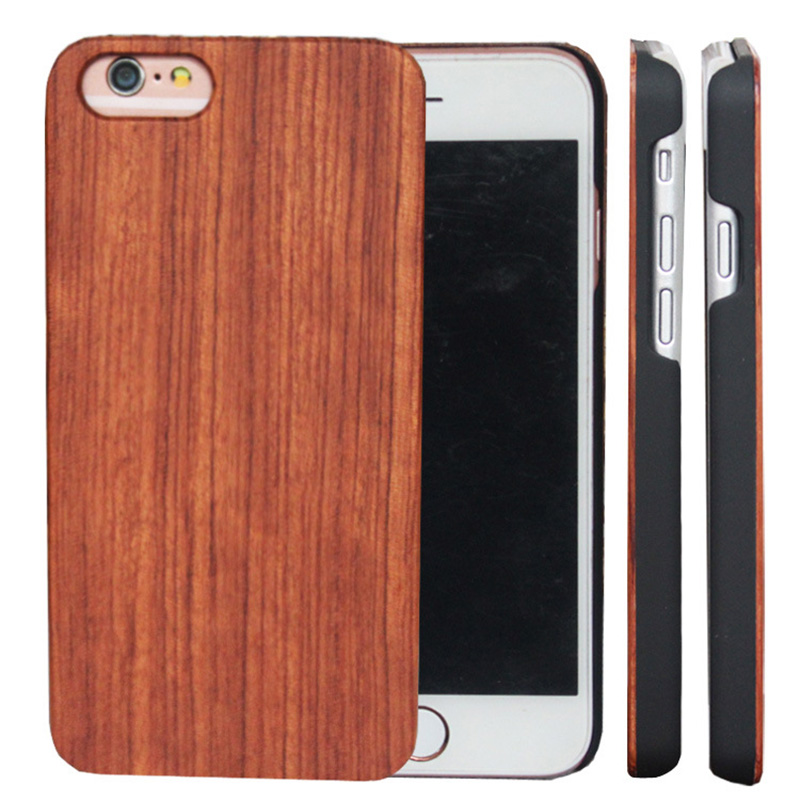 ᐂ New! Perfect quality natural wood case s6 and get free