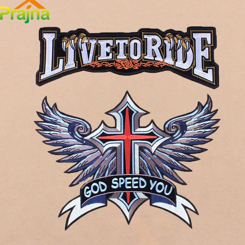 biker patches large