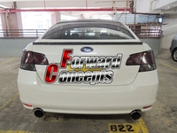 FOR 2010 2014 LEGACY REAR WING TRUNK SPOILER