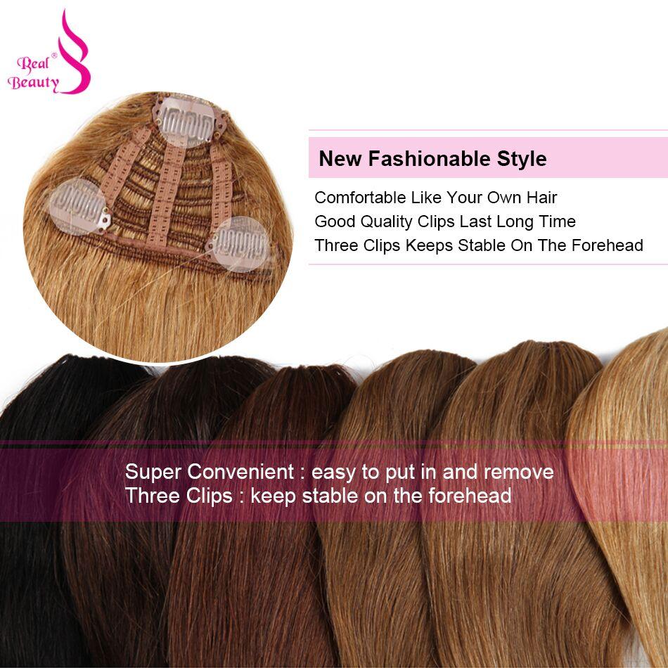 Brasilianische Menschliches Haar Stumpfen Pony Clip In Menschenhaar Verlängerung Natürliche Schwarz Dolago 100% Reines Haar Produkte Fein Verarbeitet Haarteile