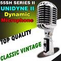 55SH II Série profissional Com Fio Microfone Dinâmico Vocal Microfone Retro Estilo Vintage Microfone Para Karaoke KTV Estúdio Jazz Singer