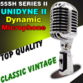 Professional 55SH II Series Wired Dynamic Vocal Retro Microphone Vintage Style Mic Mike For Karaoke KTV Studio Jazz Stage Singer