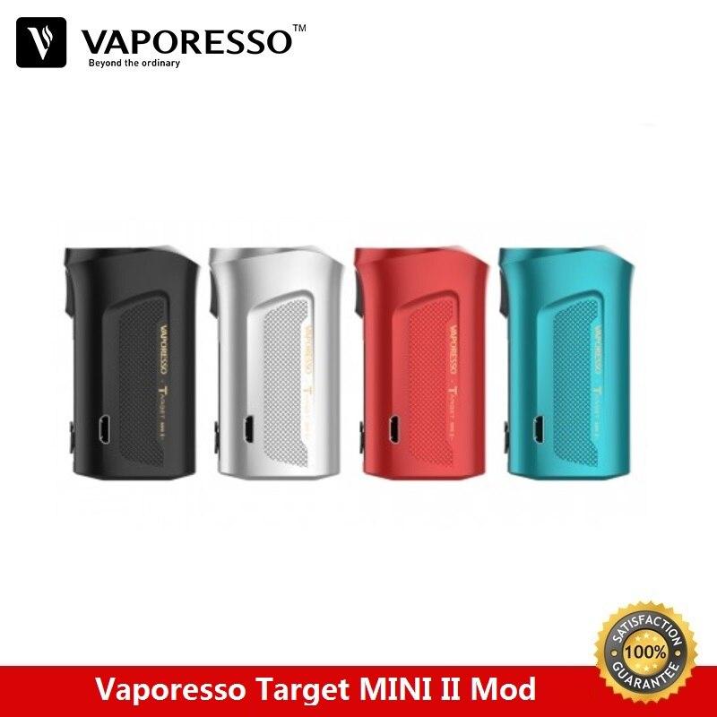 Vaporesso cible Mini II 50 W TC Box Mod 2000 mAh batterie intégrée adaptée pour VM Vape réservoir 2A vaporisateur de charge rapide VS glisser 2 Mod