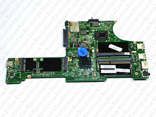 04W4444 for Lenovo thinkpad Edge E130 laptop motherboard DA0LI2MB8F0 HM77 i3 CPU DDR3 Free Shipping 100 test ok in Laptop Docking Stations from Computer Office