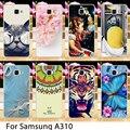 Soft Phone Cases For Samsung Galaxy A3(2016) SM-A310 4.7 inch A310 A3100 A310F Case Hard Back Cover Skin Housing Sheath Hood Bag