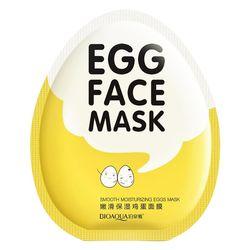 BIOAQUA 1 Peça Coreano Cosméticos de Controle de Óleo de Cuidados Da Pele Facial Rosto Ácido Hialurônico Máscara Umidade Essência Pack Folha Preta