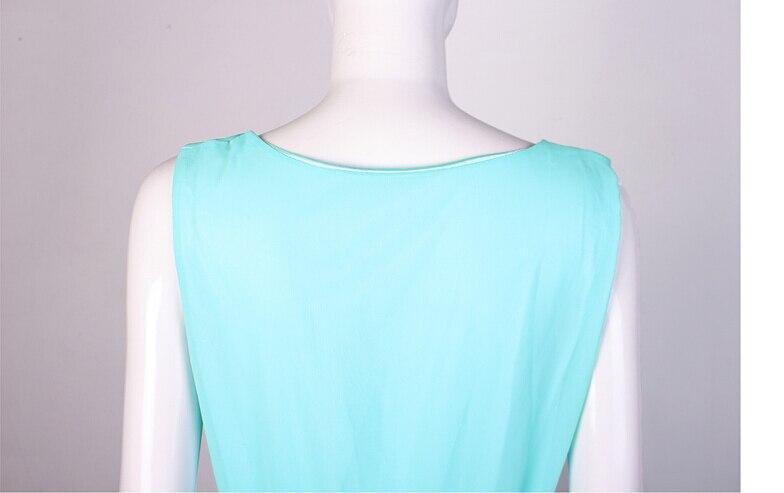 Licht Blauwe Jurk : Snowinspring sexy chiffon jurk vrouwen dames zomer jurk