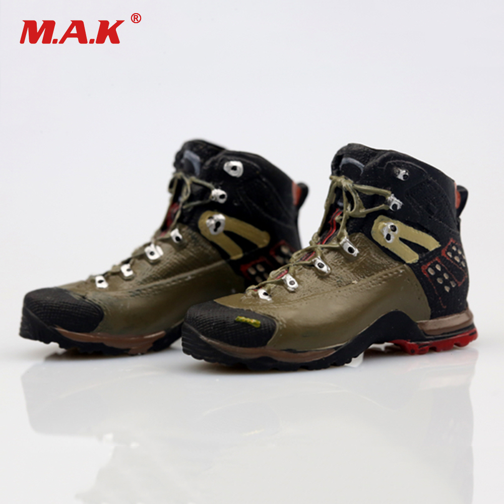 """1:6 Male Shoes Boots Hiking Combat Soldier Accessory For 12/"""" Action Figure AS016"""
