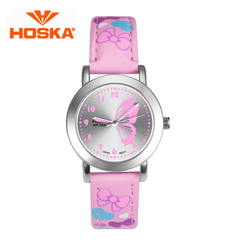 HOSKA Children Quartz Watch Lady Sports Watches Fashion Casual Ladies Wristwatches Jelly Kids Clock girls Students Wrist watches