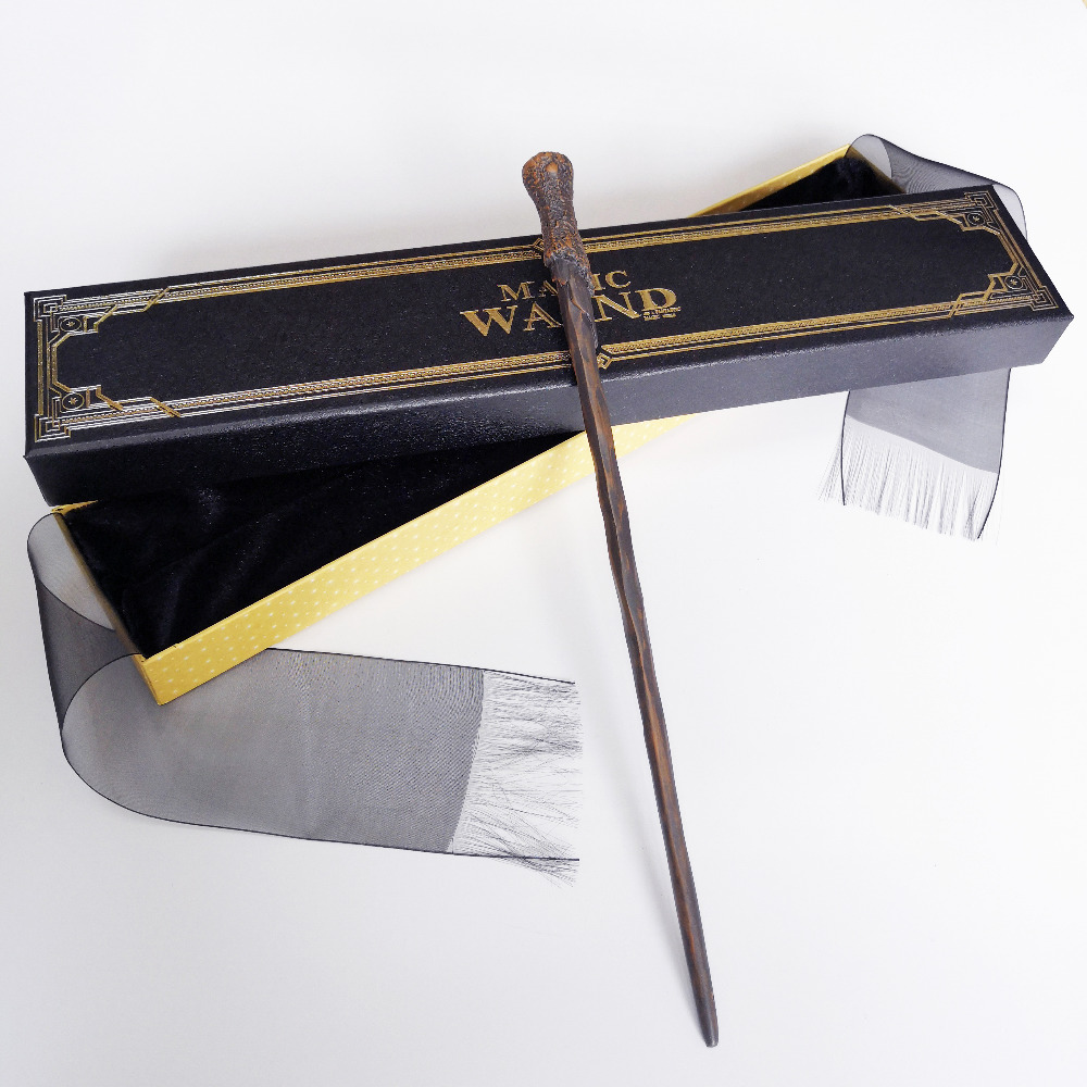 New Metal Core Ron Magic Wand/ HP Magical Wand/ High Quality Gift Box Packing Free Train Ticket