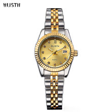 WLISTH New Arrival Top Brand Luxury Ladies Watch High Fashion Rose Gold Quartz Watch Diamond Women Watches Gold relogio feminino