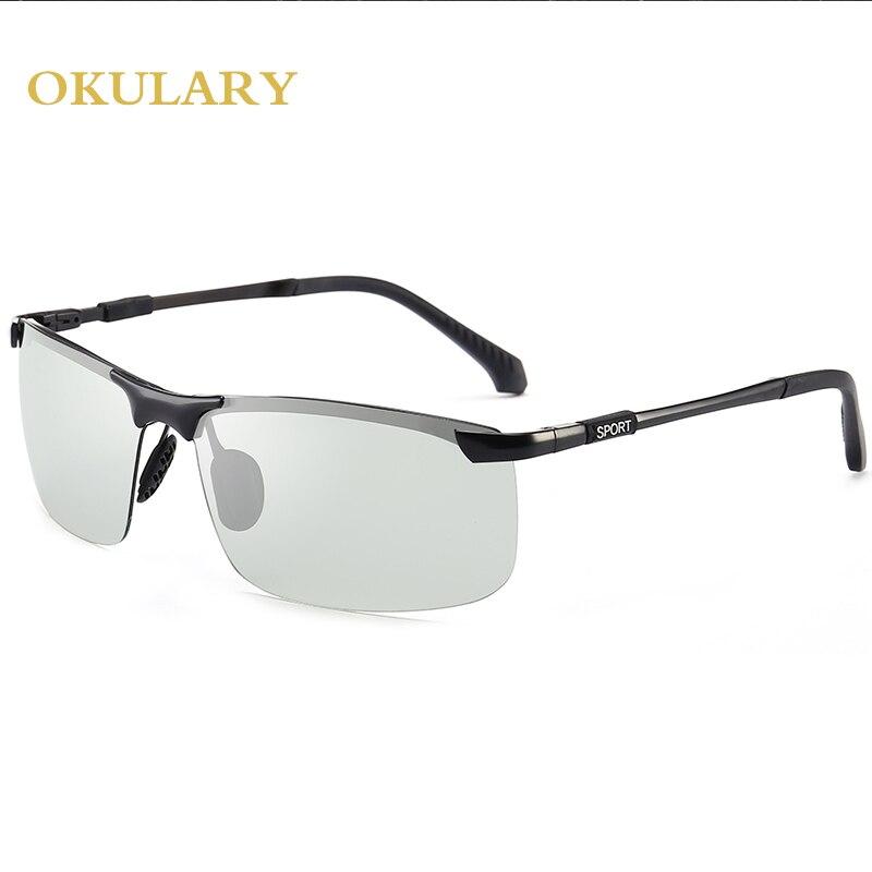 706f9e659a Dropwow 2018 new Driving Photochromic Sunglasses Men Polarized ...
