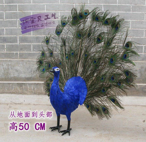 big simulation peacock toy lifelike handicraft peacock with beautiful tail doll about 100x90cm new big simulation wings pigeons toy polyethylene