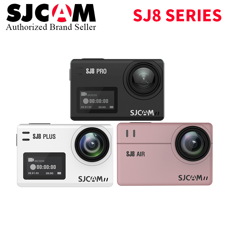 Date SJCAM SJ8 série SJ8 Air & SJ8 Plus & SJ8 Pro 1290 P 4 K caméra d'action WIFI télécommande étanche sport DV