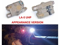 Hunting Accessory Airsoft Laser for Shooting Games LA 5 UHP Battery Case with Red Laser LED Flashlight