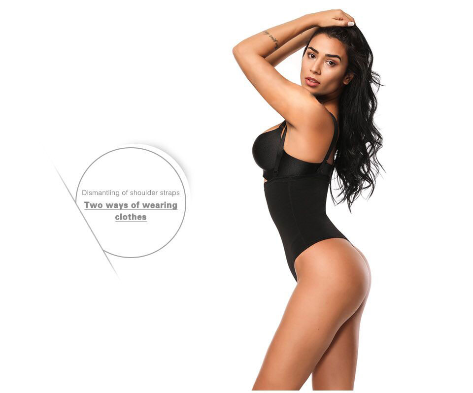 5ab798144a 2019 Lover Beauty Women Full Body Shaper Waist Cincher Underbust ...