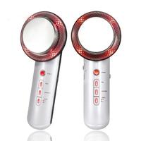 Personal skin care far infrared ultrasonic ems vibration body shaper facial lifting beauty machine