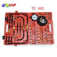 2018 Super TU 443 Universal Automotive TU 443 Fuel Injection Pump Tester Deluxe Manometer Fuel Pressure DHL free