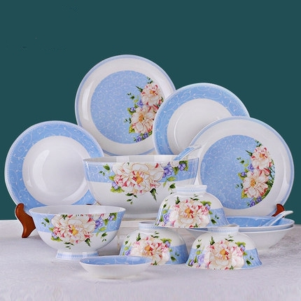 Vilo Summer Bloom Patterned Bone China 28-Piece Dinnerware Set Service for 6 & Aliexpress.com : Buy Vilo Summer Bloom Patterned Bone China 28 Piece ...