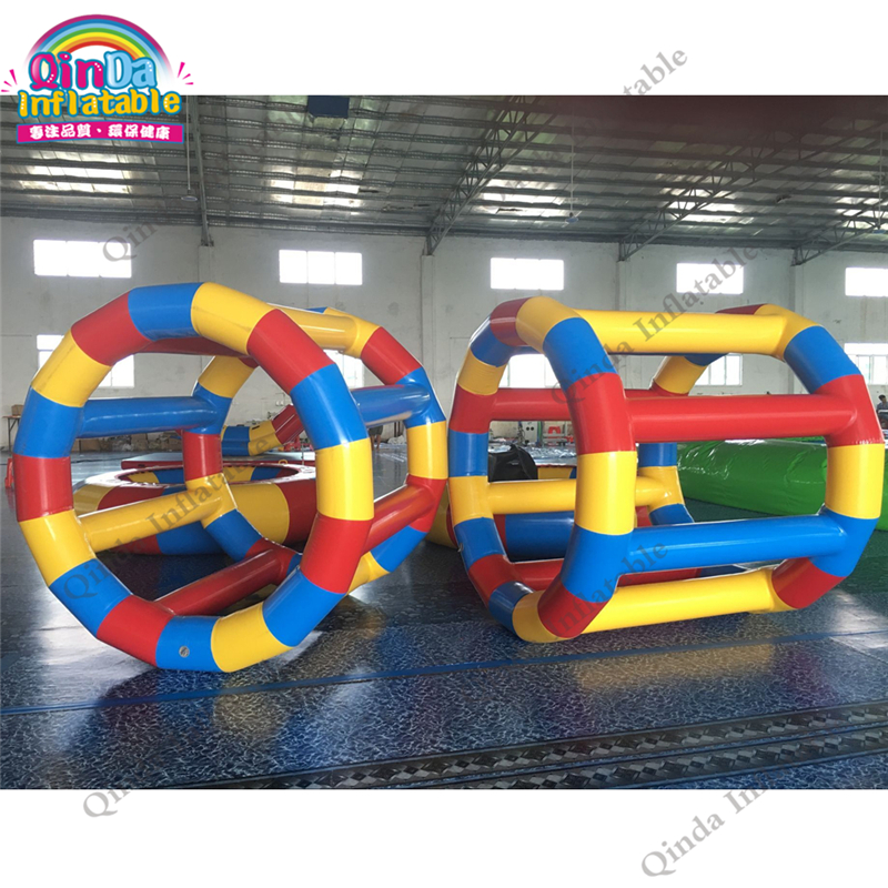 Top quality water toys inflatable hamster wheel for sale