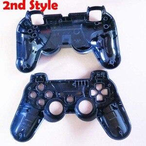 Image 2 - 원래 PS3 무선 블루투스 SIXAXIS 컨트롤러 쉘에 대 한 20 대/몫 뜨거운 교체 주택 커버 케이스