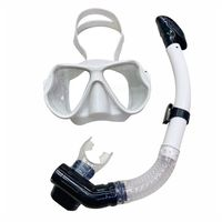 Professional Diving Mask Scuba Snorkel Swimming Goggles Dry Snorkel Tube Set Men Women Anti fog Diving Goggles for Camera