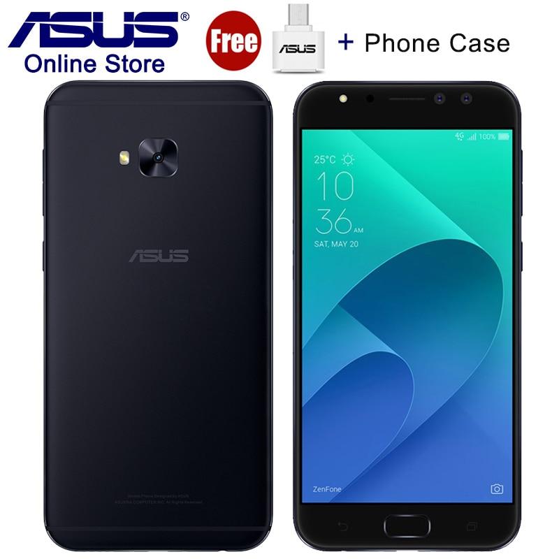 ASUS ZenFone 4 Selfie Pro ZD552KL 4G LTE Mobile Phones 2 0GHz Dual Front Cameras 4GB