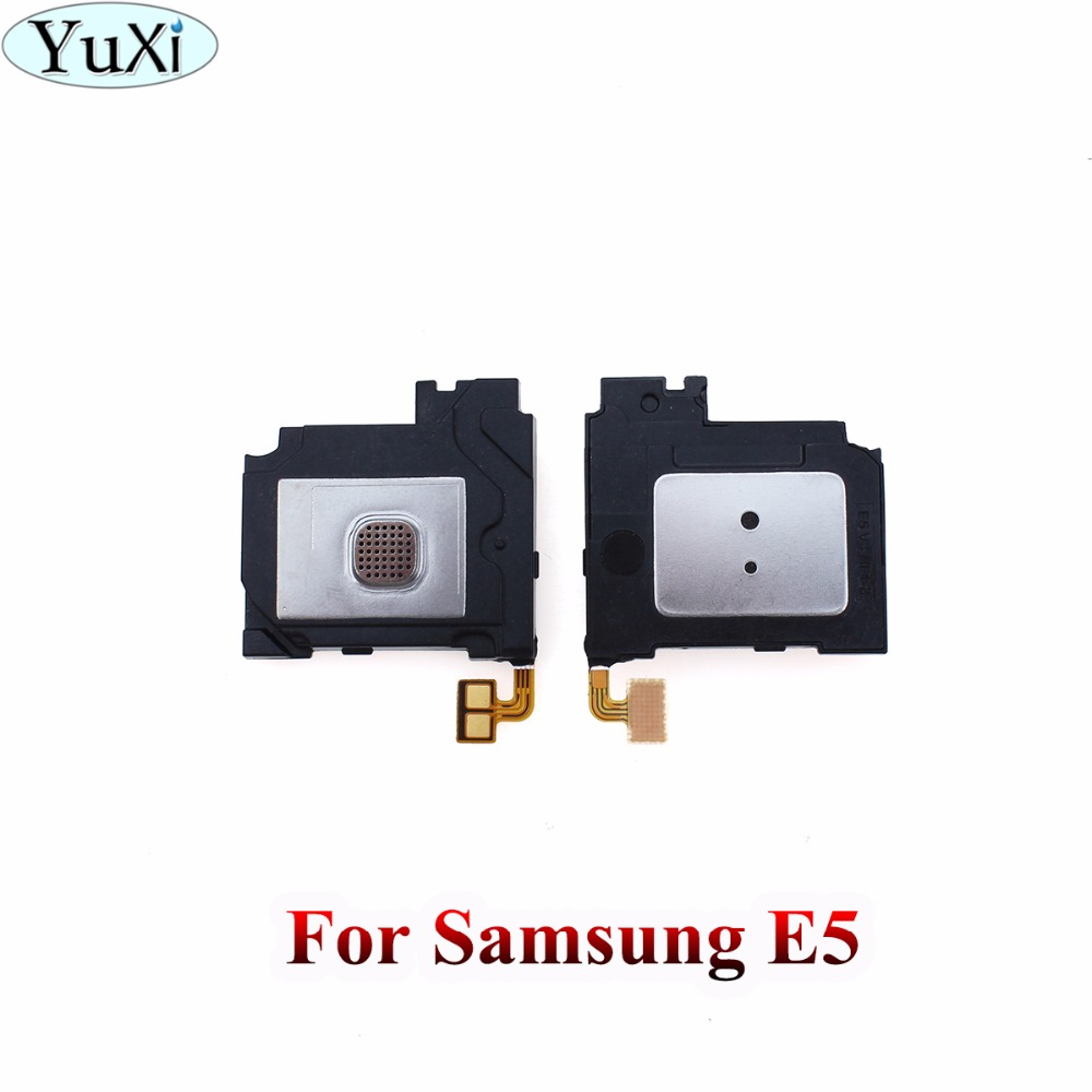 YuXi 1PCS For Samsung Galaxy E5 E500 Loudspeaker Loud Speaker Ringer Buzzer Sound Module Flex cable Replacement Parts