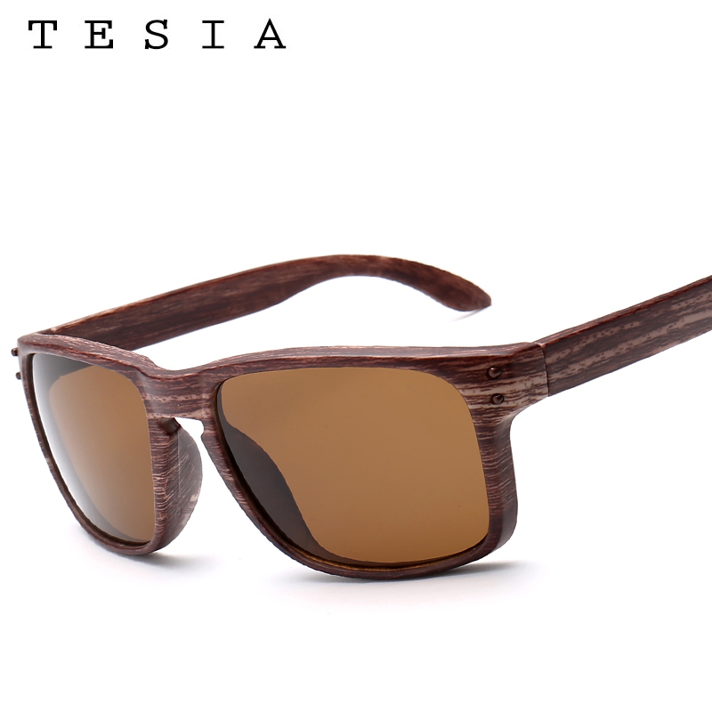 TESIA Brand Designer Wood Sunglasses Men Women Outdoors Glasses - Apparel Accessories - Photo 5