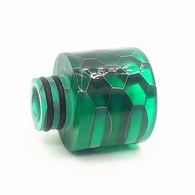 Safe Healthy 6 Colors Snakeskin Resin Drip Tip For 510 Caliber Atomizer Electronic Cigarette Nozzle Vape Mouthpiece