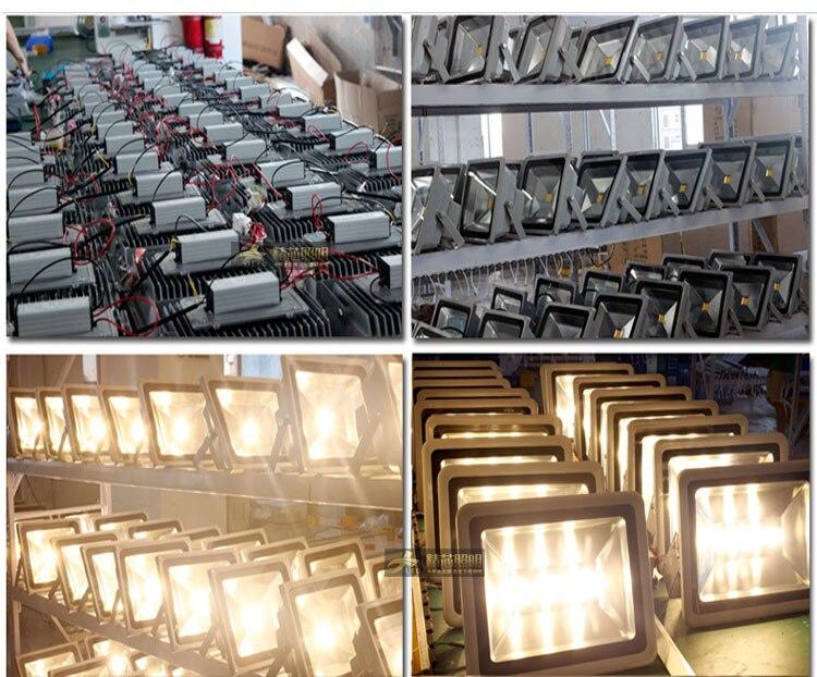RGB LED Flood Light 10W 20W 30W 50W Foco LED Exterior Spotlight IP65 LED Outdoor Light Reflector Spot Floodlight Remote Control