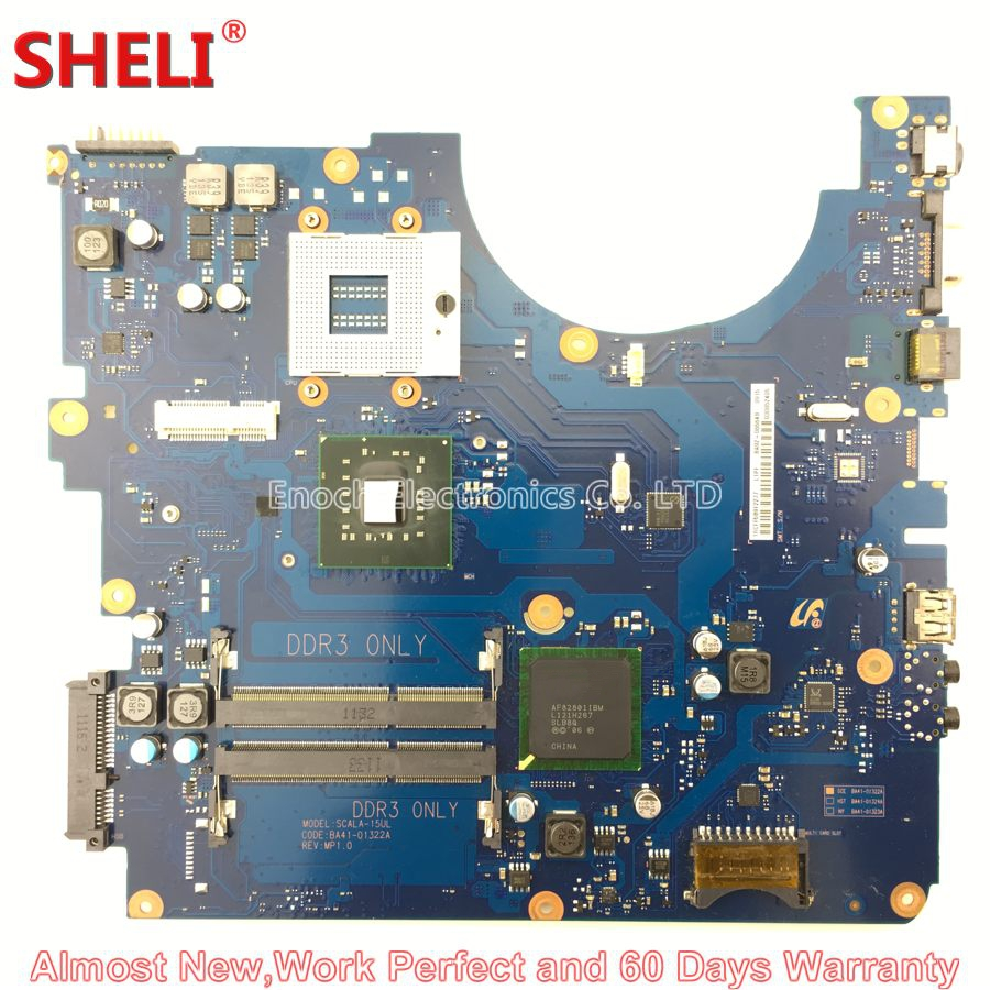 все цены на SHELI BA92-06564A BA92-06564B Laptop Motherboard For Samsung RV510 NP-RV510 SCALA-15UL BA41-01322A GL40 Main Board System Board