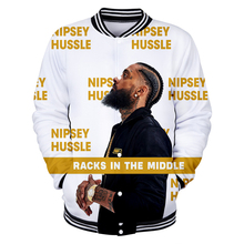 2019 New 3D Rep nipsey hussle Jacket  Casual Autumn Baseball Jacket Women/men Clothes Hot Sale kpops Jacket Print Plus Size 4XL цены