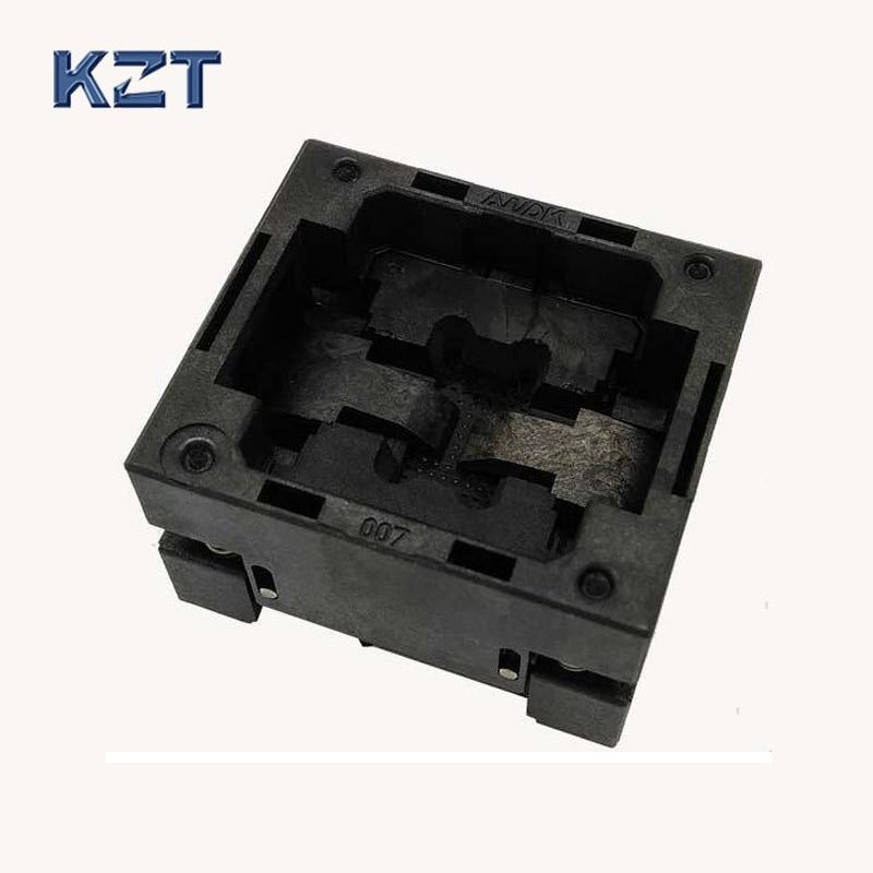 BGA48 OPEN TOP socket pitch 0.8mm IC size 6.15*8.15mm BGA48(6.15*8.15)-0.8-TP04/50N BGA48 VFBGA48 Burn in/programmer socket