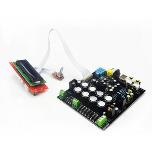 Image 3 - Lusya AK4490 DAC decoder board without USB daughter card  AK4118 receiver with NE5532 op Soft control  D3 003