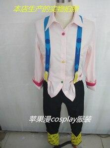 Image 2 - ורוד/לבן Juzo Suzuya Rei טוקיו ר טוקיו גורו קוספליי Cos תלבושות Juuzou Suzuya מלא סט (חולצה + מכנסיים + פלטה + נעליים + צועד)