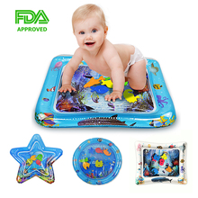 Baby Inflatable Toys Water Patted Pad Summer Dual Use Toys Prostrate Water Cushion Patted Pad Marine Organism Knowledge Toy