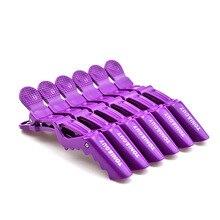 6 unids/lote salón profesional sección cabello DIY peluquería horquillas plástico cuidado del cabello Styling accesorios herramientas pinzas de pelo