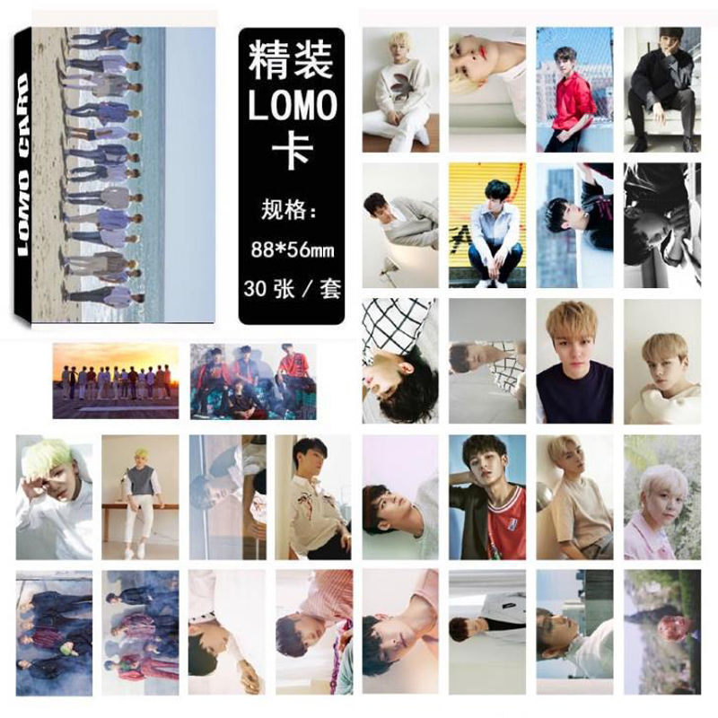 Office & School Supplies Amiable 30 Pcs/pack Fashion Kpop Seventeen Dont Wanna Cry Album Lomo Cards Self Made Paper Photo Card Hd Photocard Stationery Gifts Calendars, Planners & Cards